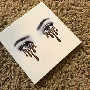 Kylie Cosmetics Makeup - New! Kylie burgandy palette.